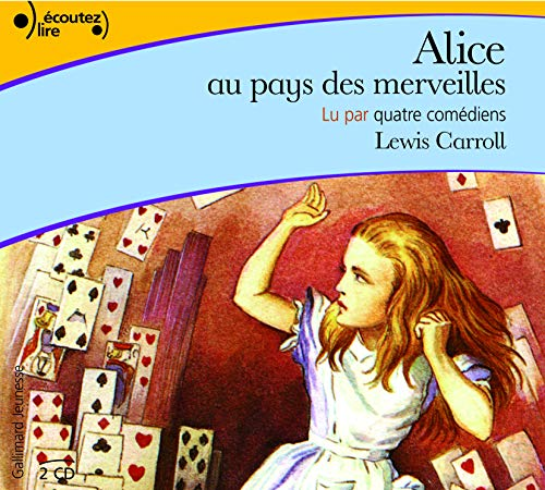 9782070610891: Alice au Pays des Merveilles CD (French Edition) (English and French Edition)