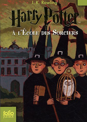 9782070612369: Harry Potter à l'école des sorciers (French Edition)
