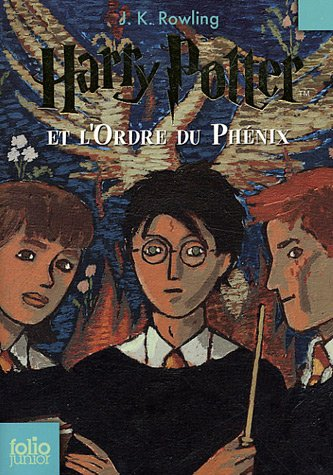 9782070612406: Harry Potter, Tome 5 : Harry Potter et l'Ordre du Phénix (Folio Junior)