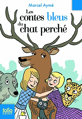 9782070612659: Les contes bleus du chat perche (Folio Junior)