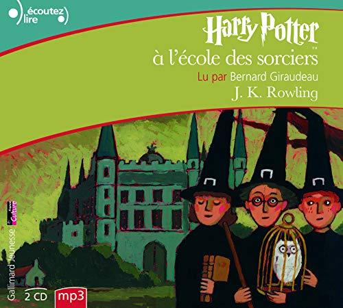 HARRY POTTER A L'ECOLE DES SORCIERS - Audio book 2 CD mp3: ROWLING, J.K.