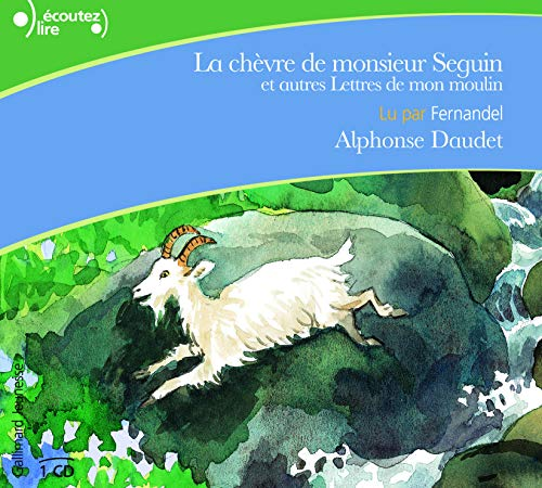 La Chevre De Monsieur Seguin ; audiolivre CD ; audiobook (French Edition) (9782070621231) by Alphonse Daudet