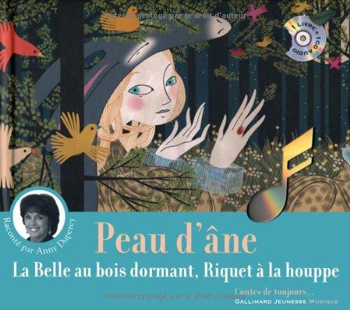 9782070624843: Peau d'Âne - La Belle au bois dormant - Riquet à la houppe [Livre + CD]