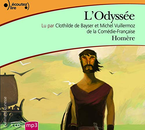 L'Odyssee [livre audio] (French Edition): Homere