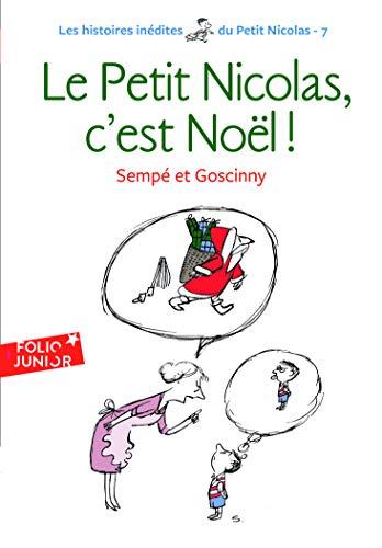9782070629480: Les histoires inédites du Petit Nicolas, 7 : Le Petit Nicolas, c'est Noël ! (Folio Junior)