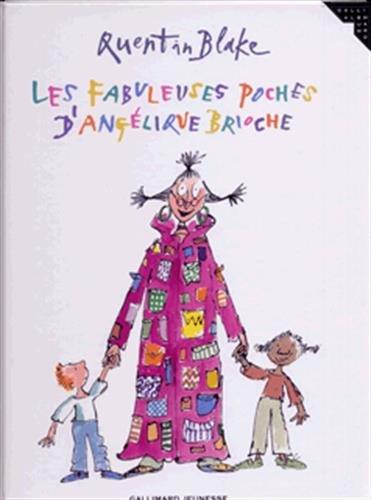 9782070631537: Les fabuleuses poches d'Angélique Brioche (French Edition)