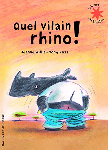 9782070632237: Quel vilain rhino !