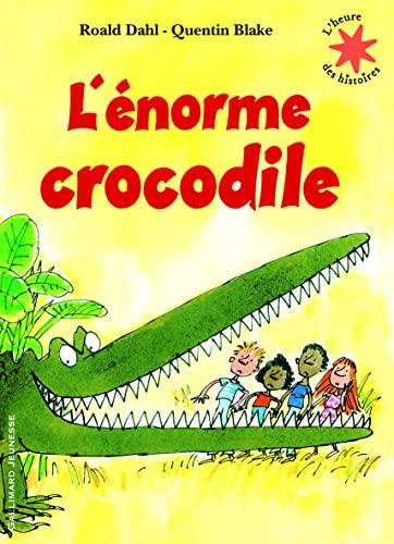 9782070632268: L'Enorme Crocodile (French Edition)