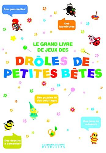 9782070633753: Le grand livre de jeux Drôles de Petites Bêtes (Hors Série Drôles de Petites Bêtes - Giboulées)