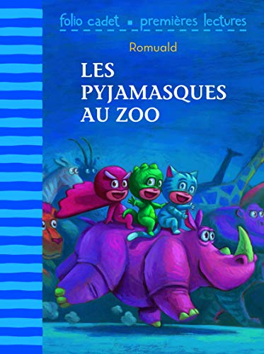 9782070634231: Les pyjamasques au zoo (French Edition)