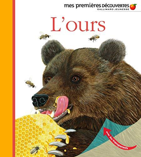 9782070644636: L'ours - Mes premières découvertes - De 3 à 6 ans