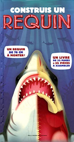 9782070652518: Construis un requin