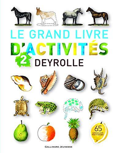 9782070652884: Le grand livre d'activités Deyrolle n°2