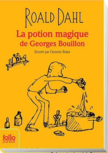 9782070655519: La Potion Magique De Georges Bouillon (Edition Collector) (French Edition)
