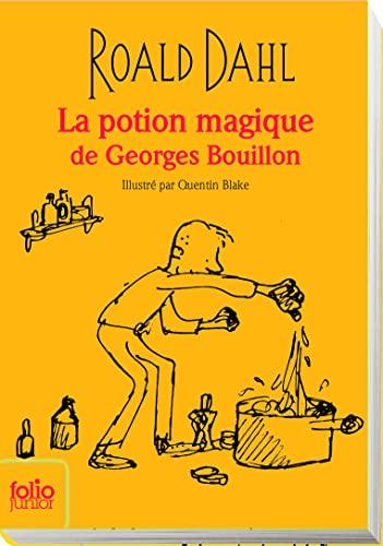 9782070655519: La potion magique de Georges bouillon (edition collector)