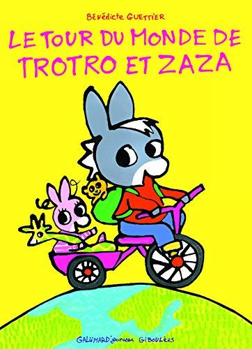 9782070656912: Le tour du monde de Trotro et Zaza