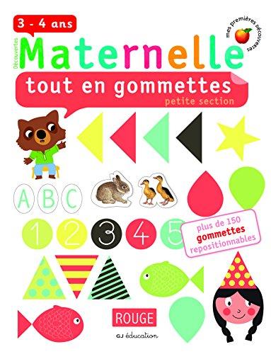 9782070658893: Tout en gommettes: Petite section (Découvertes Maternelle)