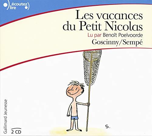 9782070659326: Les Vacances Du Petit Nicolas - Audio CD (French Edition)