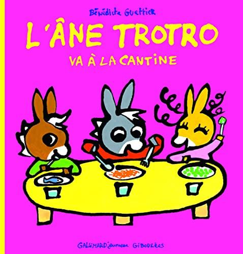 9782070660414: L'âne Trotro va à la cantine