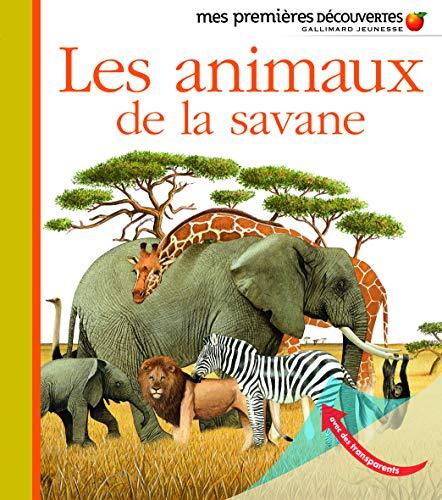 9782070663125: Les animaux de la savane