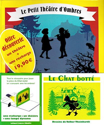 9782070663354: Le petit théâtre d'ombres - Pack en 2 volumes : Le chat botté + La Belle au bois dormant