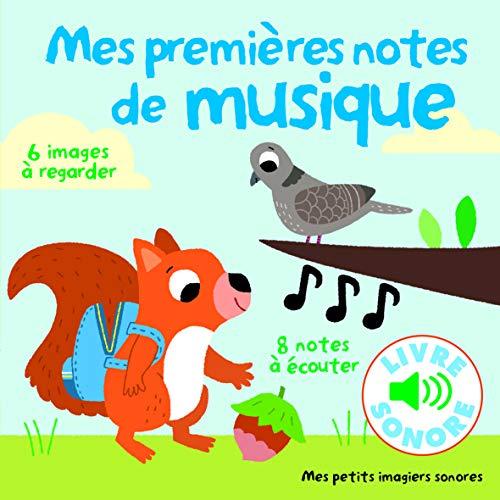 9782070663835: Mes petits imagiers sonores : Mes premières notes de musique: 6 images à regarder, 8 notes à écouter - livre sonore - audio CD (French Edition)