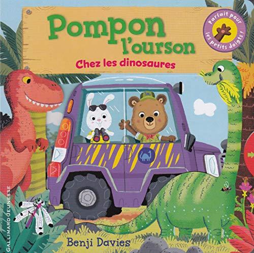 9782070665877: Pompon l'ourson chez les dinosaures