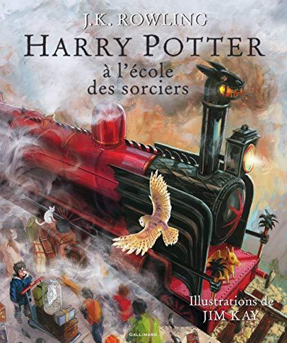 Harry Potter à l'école des sorciers - illustre - [ Illustrated ] (French Edition...