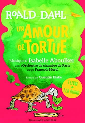 9782070669431: Un amour de tortue - Un livre + Un CD Audio - De 6 à 10 ans
