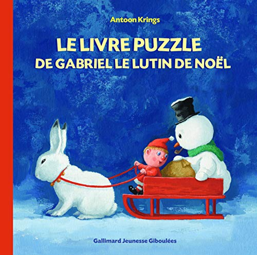 9782070669509: Les Drôles de Petites Bêtes - Le Livre Puzzle de Gabriel le Lutin de Noel - Dès 3 ans