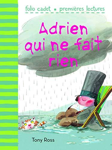 9782070696826: Adrien qui ne fait rien (Folio Cadet premières lectures)
