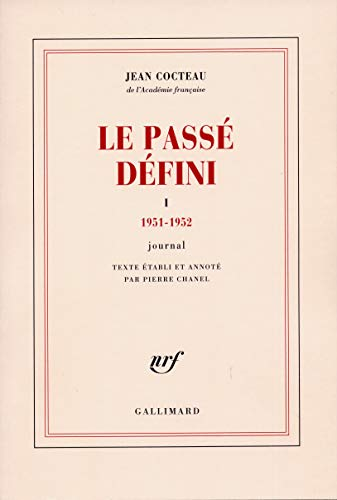 Le passe defini: Journal (French Edition): Cocteau, Jean