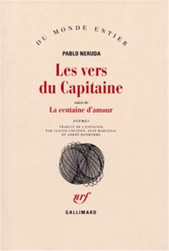 9782070701018: Les Vers du Capitaine, suivi de