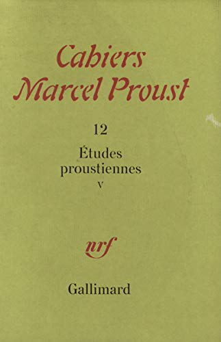 Etudes proustiennes t5 (French Edition): Collectif