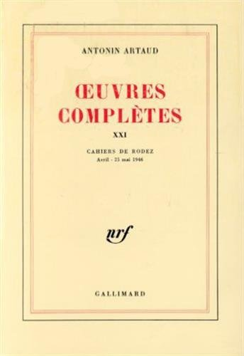 9782070702794: Œuvres complètes (Tome 21) (Blanche)