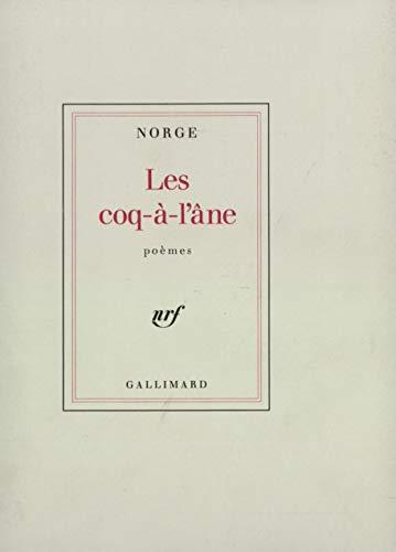 9782070702855: Les coq-à-l'âne: Poèmes (French Edition)