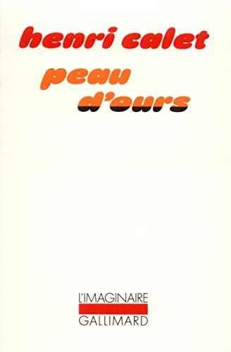 9782070704538: Peau d'ours