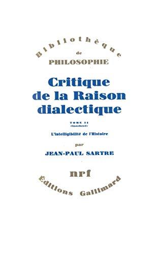 9782070705252: Critique de La Raison Dialetique (French Edition)