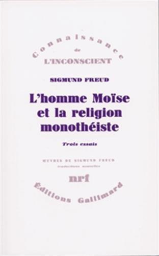 L'homme Moïse et la religion monothéiste (9782070706204) by Sigmund Freud