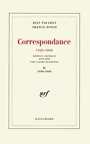 Correspondance((1923-1968)) t2 (French Edition): réultats de recherche