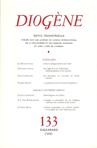 DIOGENE N°133 JANVIER-MARS 1986: COLLECTIF
