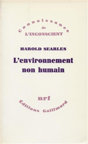 9782070706808: L'environnement non humain