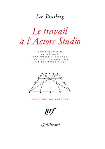 9782070707058: Le Travail à l'Actors Studio