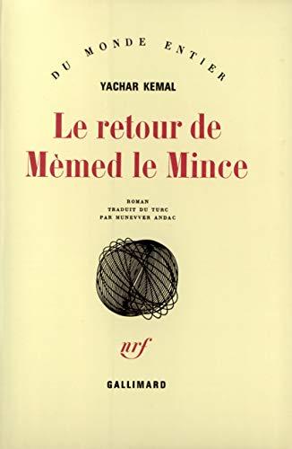9782070707218: Le Retour de M�med le Mince