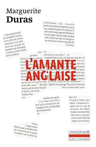 L'Amante anglaise [Mass Market Paperback] [Sep 11,: Marguerite Duras