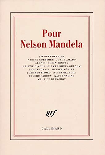 Pour Nelson Mandela: Adonis; Jorge Amado;