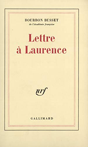 9782070708277: Lettre � Laurence
