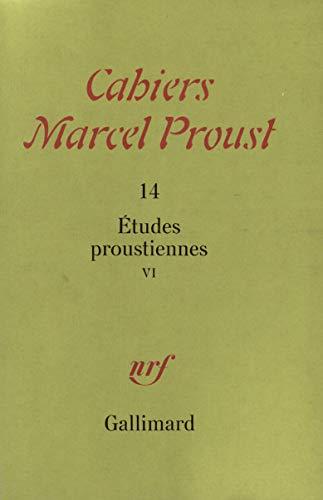 9782070708833: Études proustiennes (Tome 6)