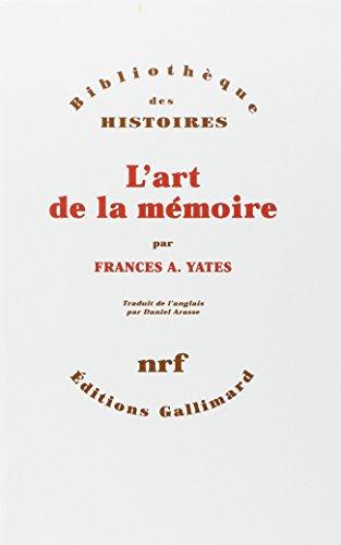 9782070709823: L'Art de la mémoire