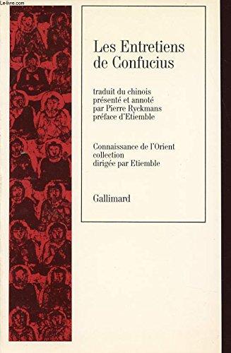 Les Entretiens de Confucius [Sep 22, 1987]: Confucius